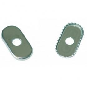 Rondelles Inox crantée pour footstrap